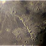 Appennini lunari - stessa strumentazione dell'immagine precedente.