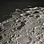 Cratere Clavius - in prossimità del terminatore, all'alba lunare. ETX-90 @ f/10