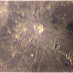 Cratere Copernico - Estensione: 93 km, profondità: 3,8 km - Stessa strumentazione dell'immagine precedente.
