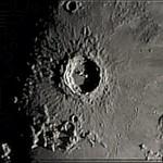 """Cratere Copernico in prossimità del terminatore, alba lunare - LX200 10"""" @ f/10"""