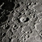 """Cratere Tycho in prossimità del terminatore, alba lunare - LX200 10"""" @f/20"""