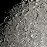 I crateri Tycho (in basso) e Clavius (più in alto) - ETX-90 @ f/28 circa