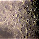 """Cratere Tycho (famoso per gli """"ejecta"""") - Estensione: 85 km, profondità: 4,8 km - ETX-70 @ f/15"""