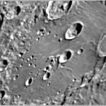 """Cratere Clavius - LX200 10"""" @f/25"""
