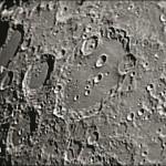 Cratere Clavius - Estensione: 225 km, profondità: 3,5 km; ripresa con ETX-90 @ f/30