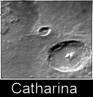 Il cratere Catharina